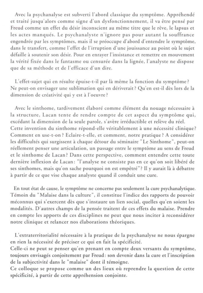 Le symptôme Dijon 1 1